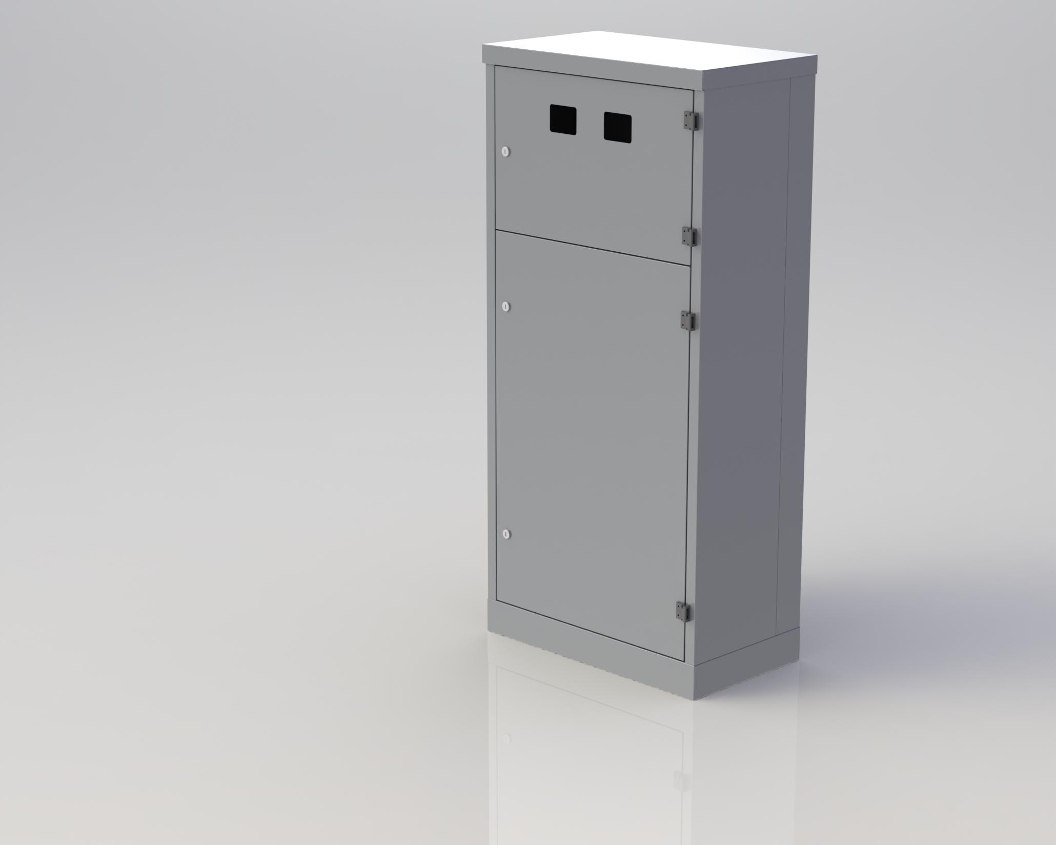 Шкаф металлический щмп 08